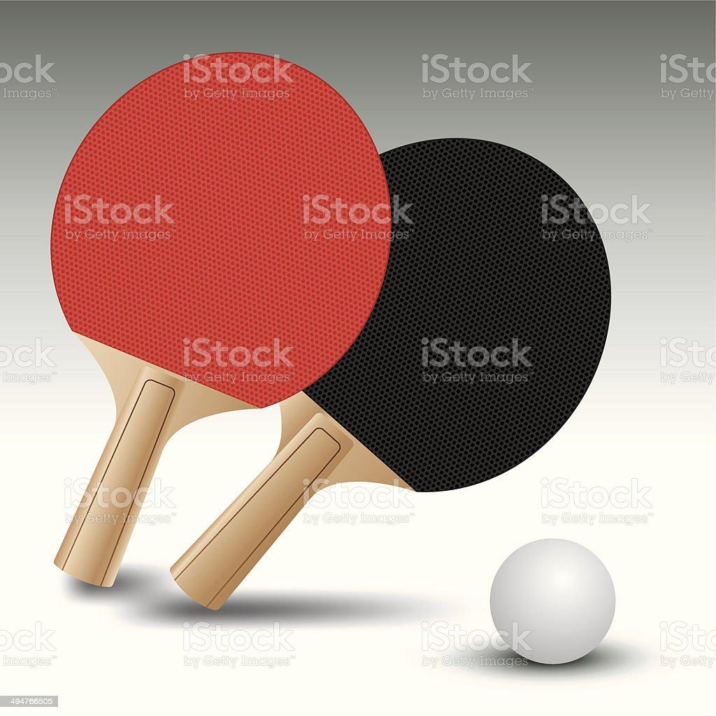 Ping pong royalty-free stock vector art