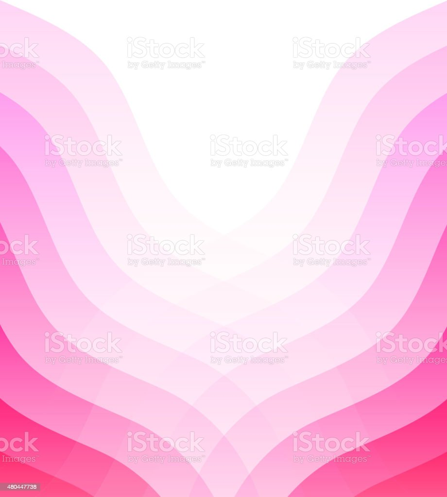 Pink abstract background vector art illustration