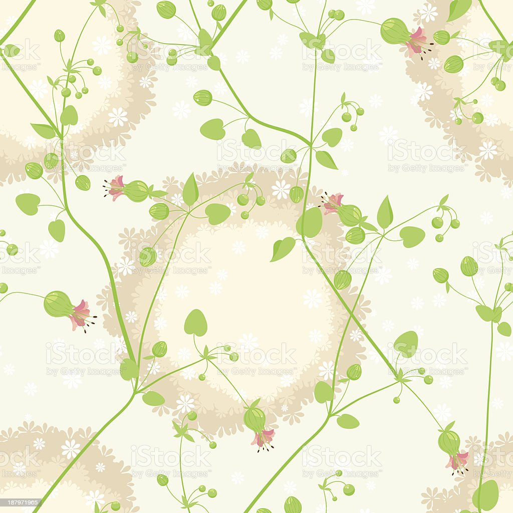 pink and white flowers royalty-free stock vector art
