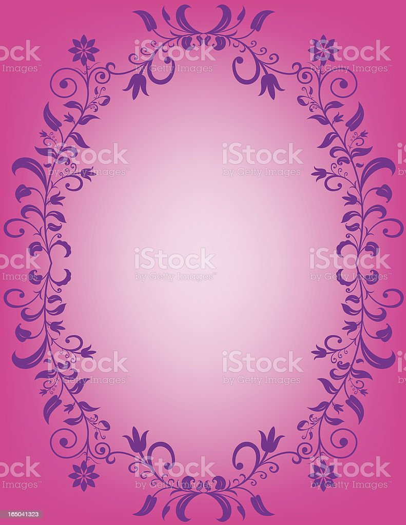 pink bordered background royalty-free stock vector art