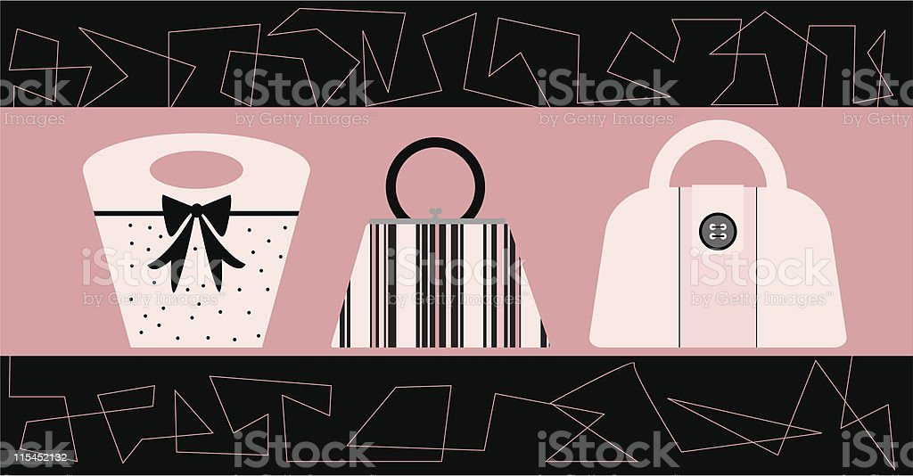 Pink Boutique royalty-free stock vector art