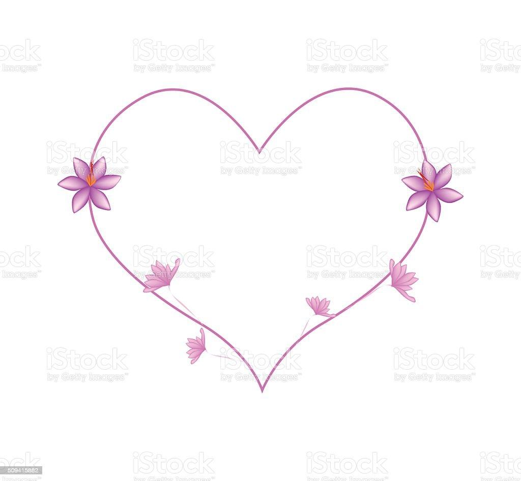 Fleurs en forme de coeur - Fleur en forme de coeur ...
