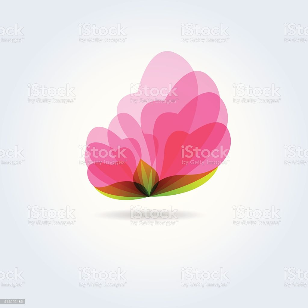 Pink flower icon symbol vector stock vector art 515222485 istock pink flower icon symbol vector royalty free stock vector art dhlflorist Images
