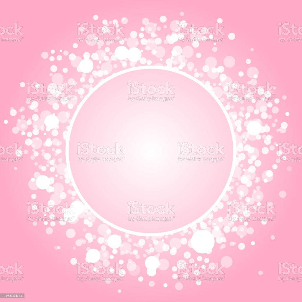 pink frame royalty-free stock vector art