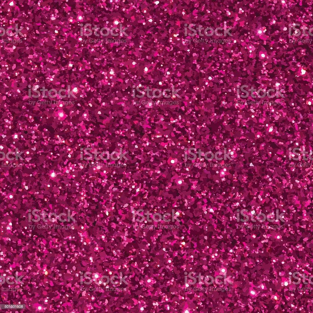 Pink glitter seamless pattern/ texture. vector art illustration