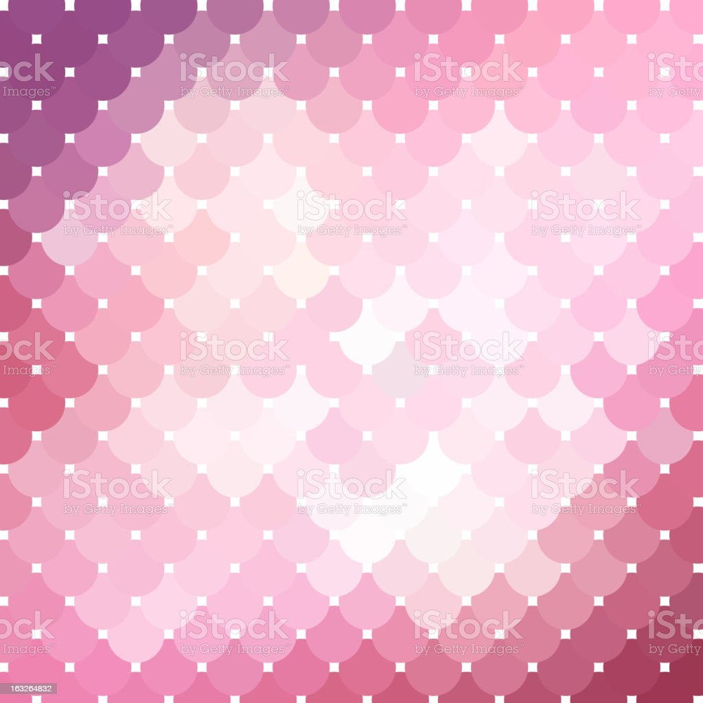 Pink mosaic background_2 vector art illustration