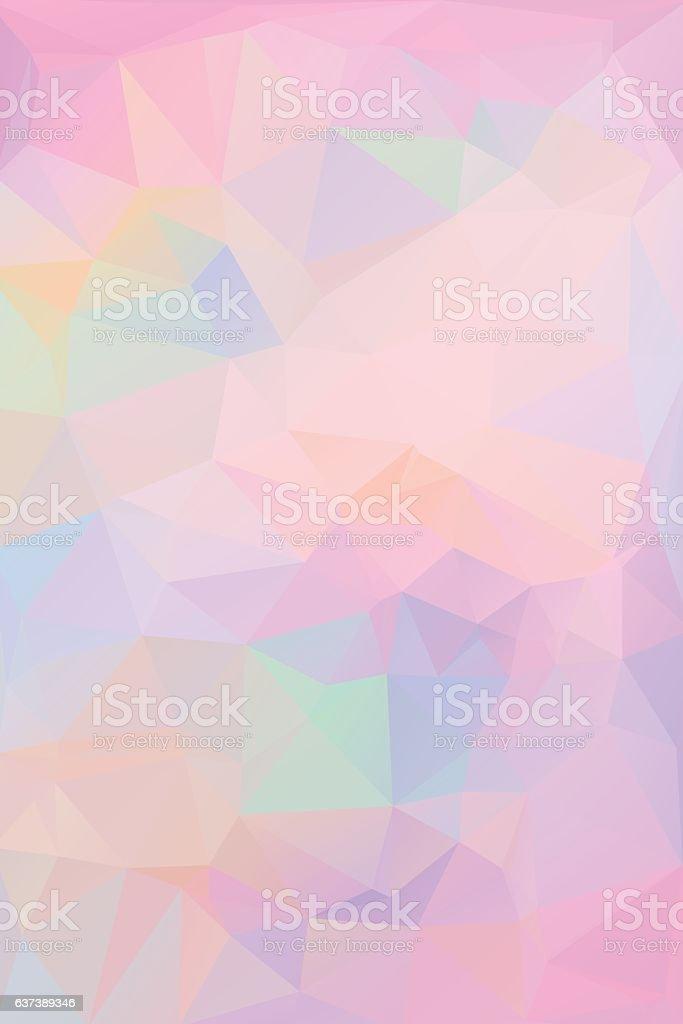 Pink polygonal background. Geometric texture vector. Eps8 vector art illustration
