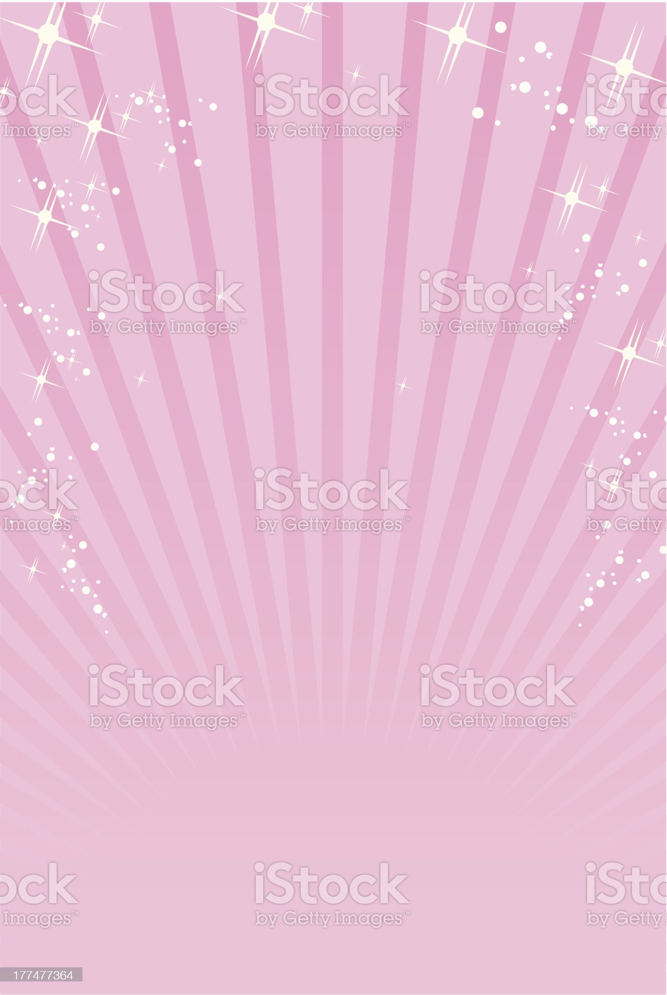 pink ray background Vector royalty-free stock vector art
