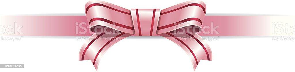 pink Ribbon royalty-free stock vector art