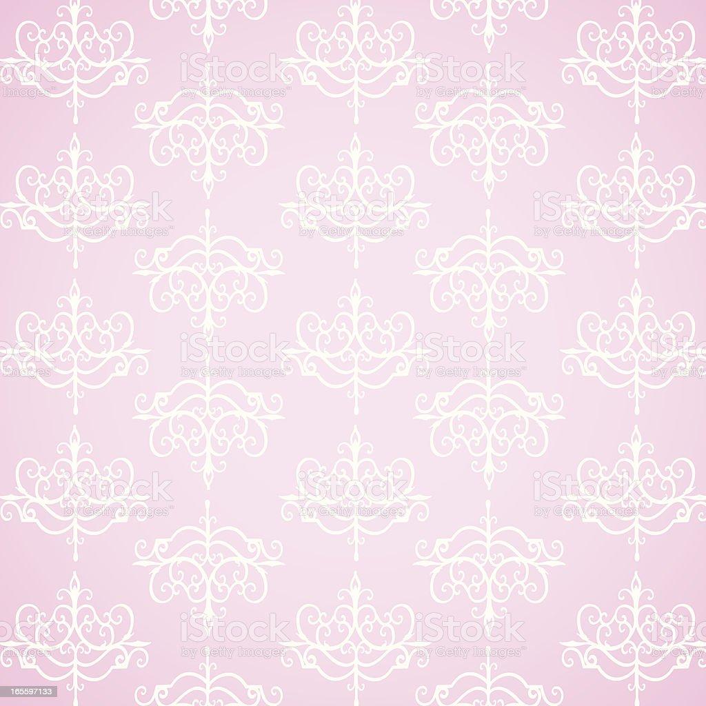 Pink Wallpaper royalty-free stock vector art