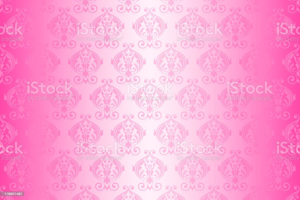 pink wallpaper royalty-free stock vector art
