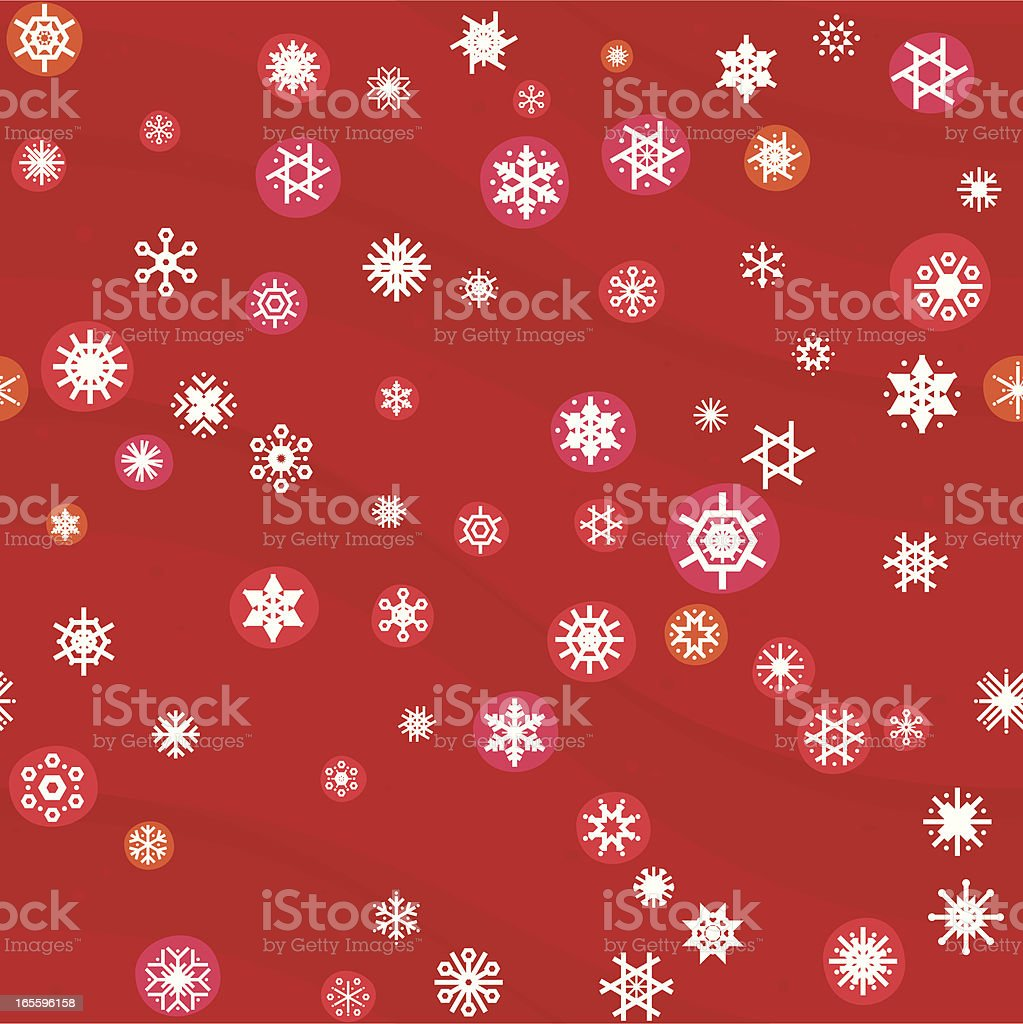 Pinkysh christmas seamless pattern royalty-free stock vector art