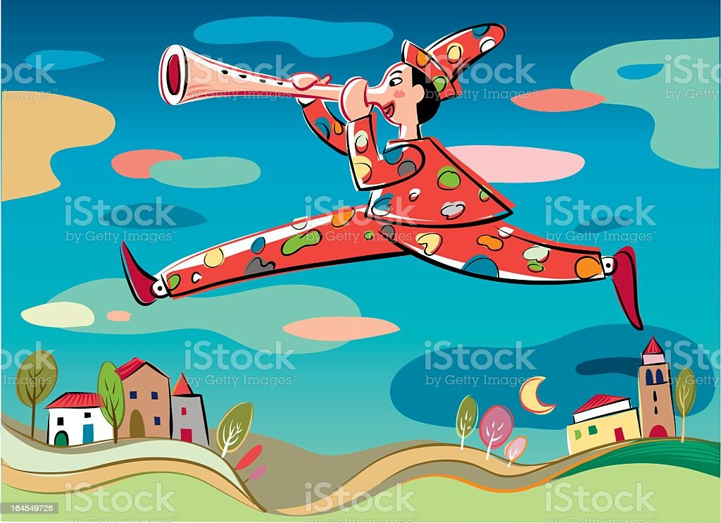 Pinocchio royalty-free stock vector art