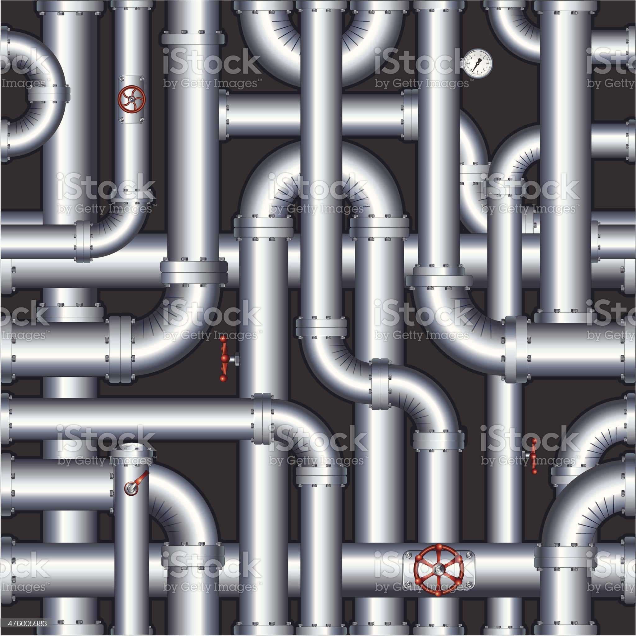Pipe pattern royalty-free stock vector art