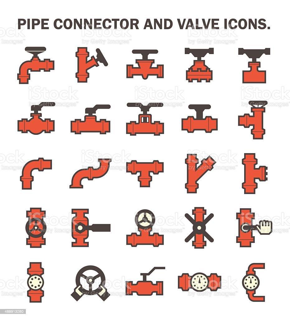 Pipe vector art illustration