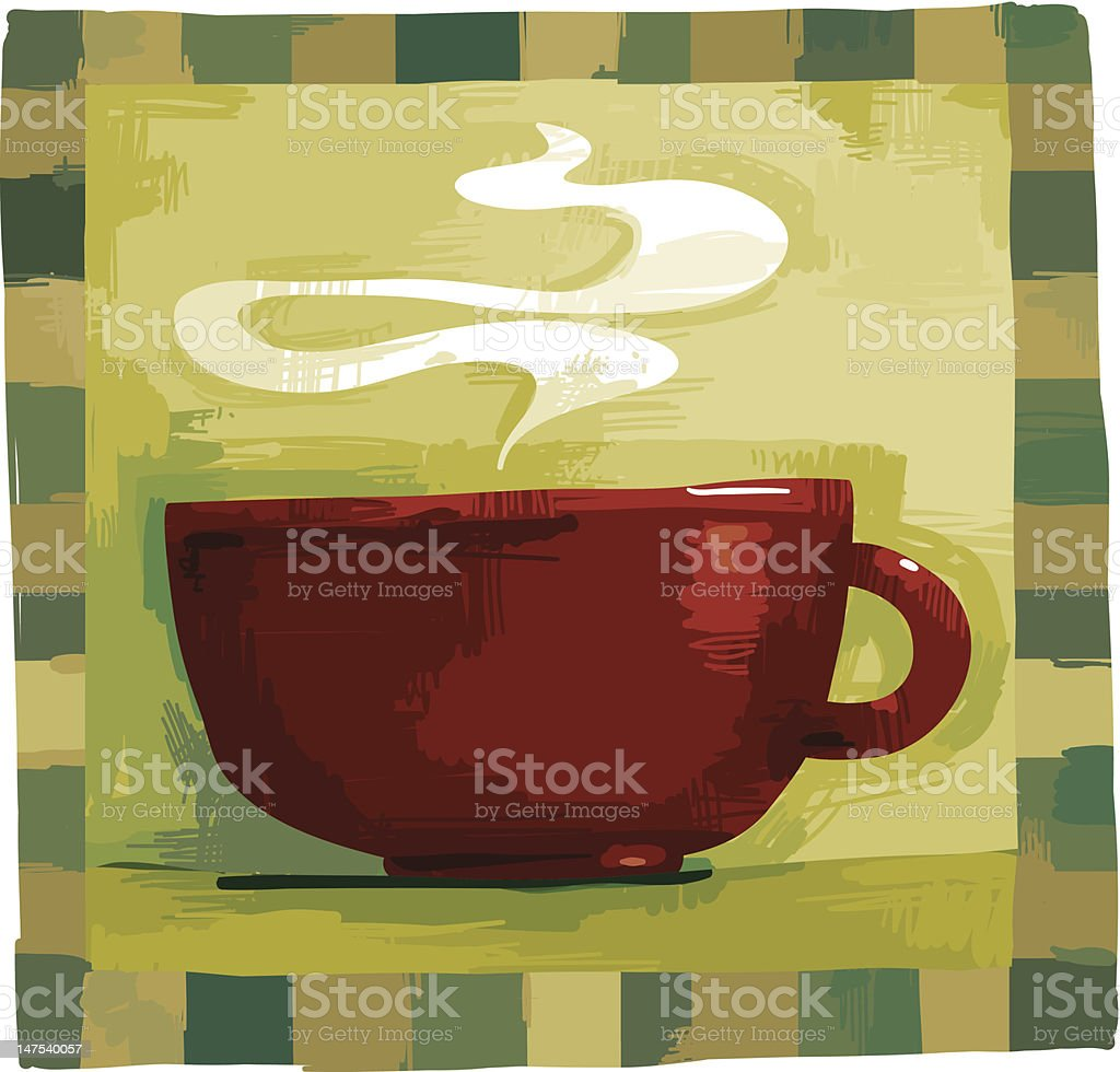 Piping Hot royalty-free stock vector art