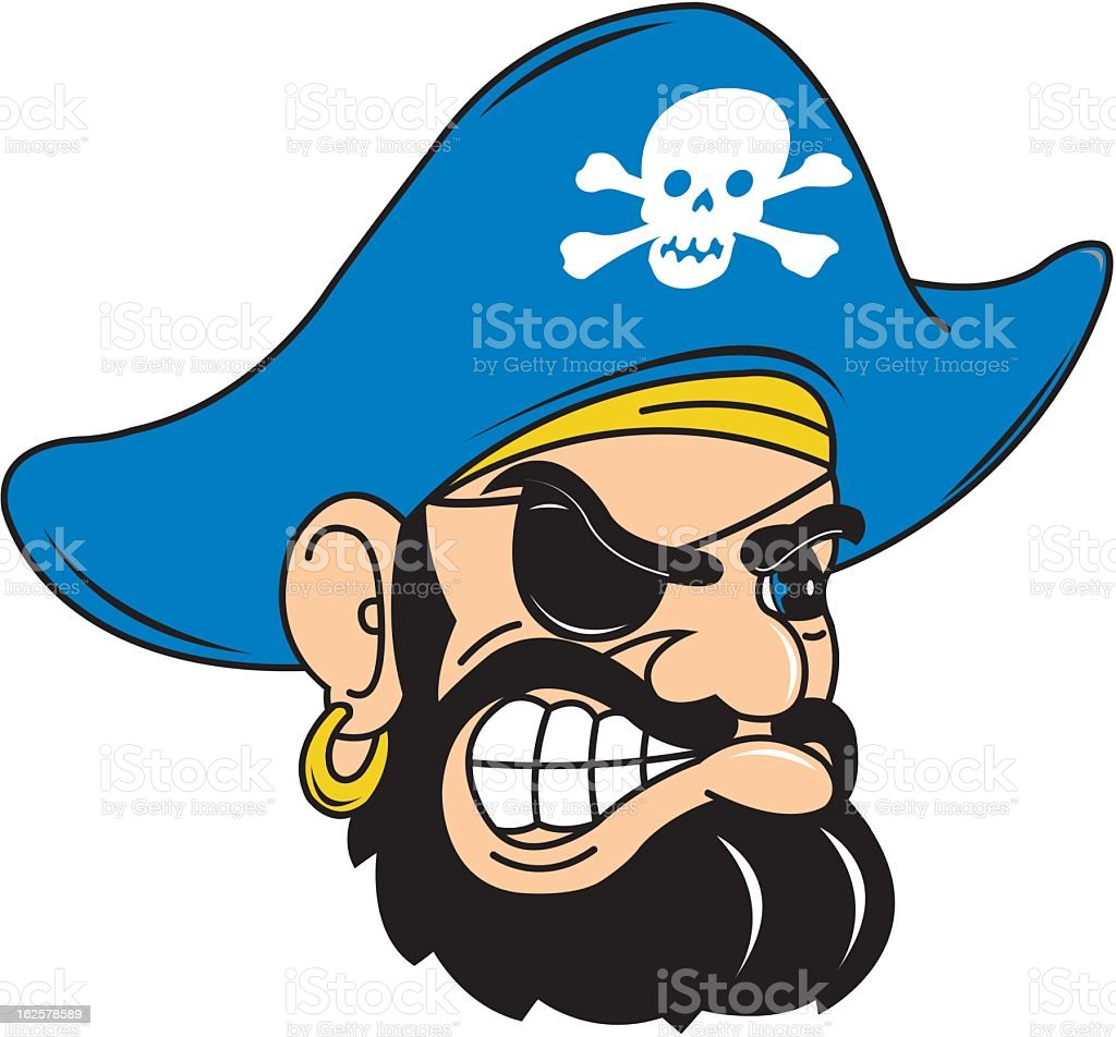 Pirate Icon royalty-free stock vector art
