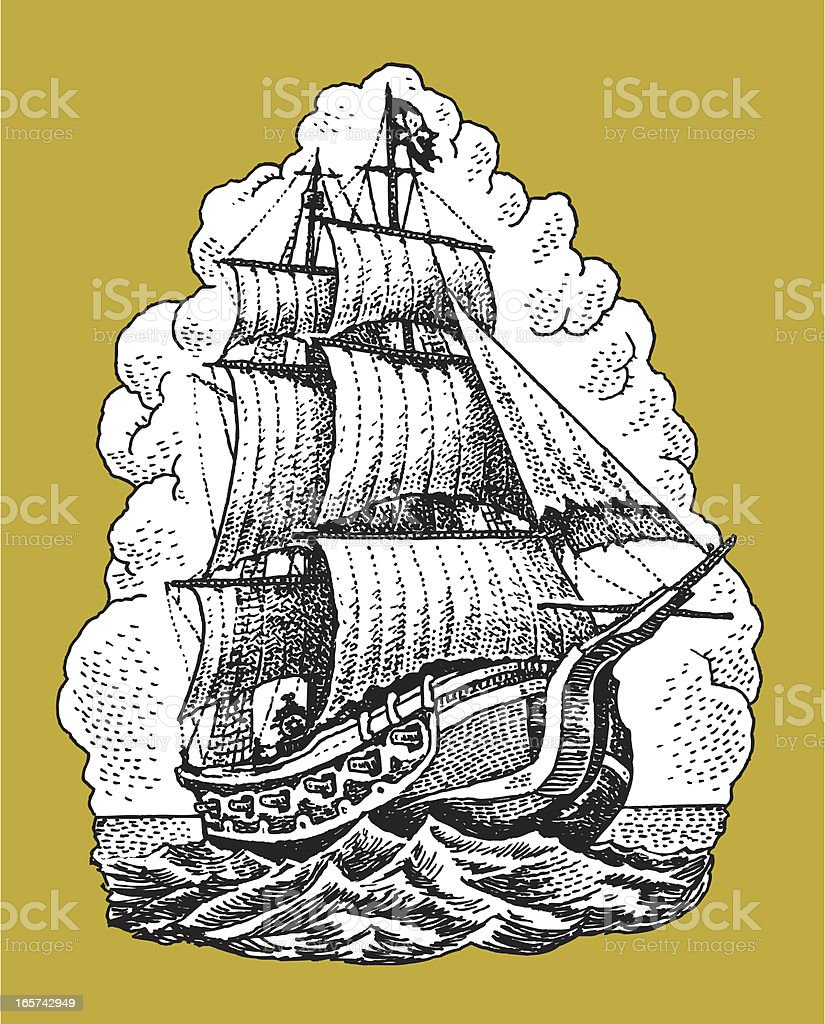 pirate ships pictures | Thema:Pirates ? Pirate-ship-illustration ...