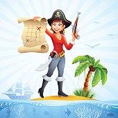 Pirate - Treasure Map
