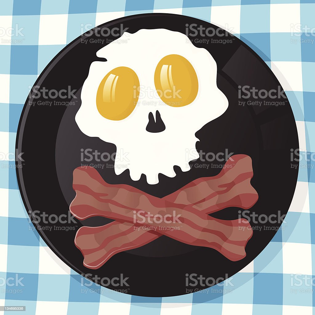 Pirates Breakfast royalty-free stock vector art