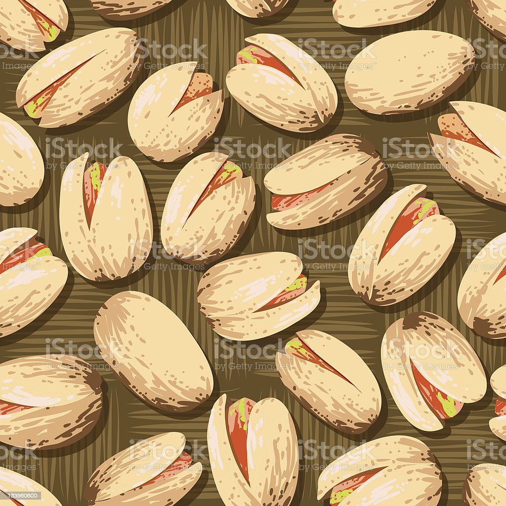 Pistachio Nuts royalty-free stock vector art