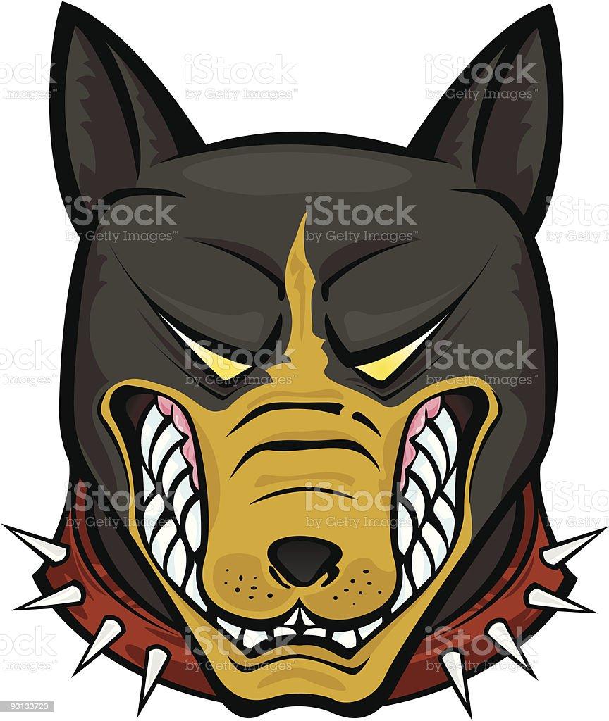 Pit Bull Terrier royalty-free stock vector art