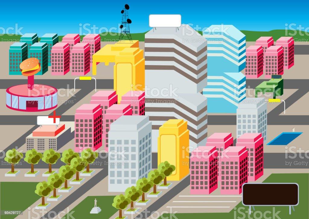 Pixel Corporation royalty-free stock vector art