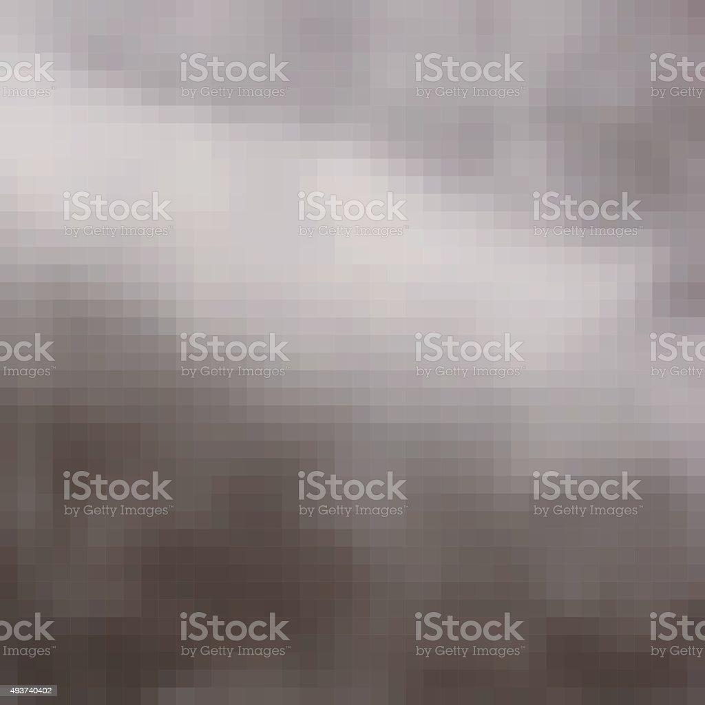 pixel hazy blur cloud gray light effect background vector art illustration
