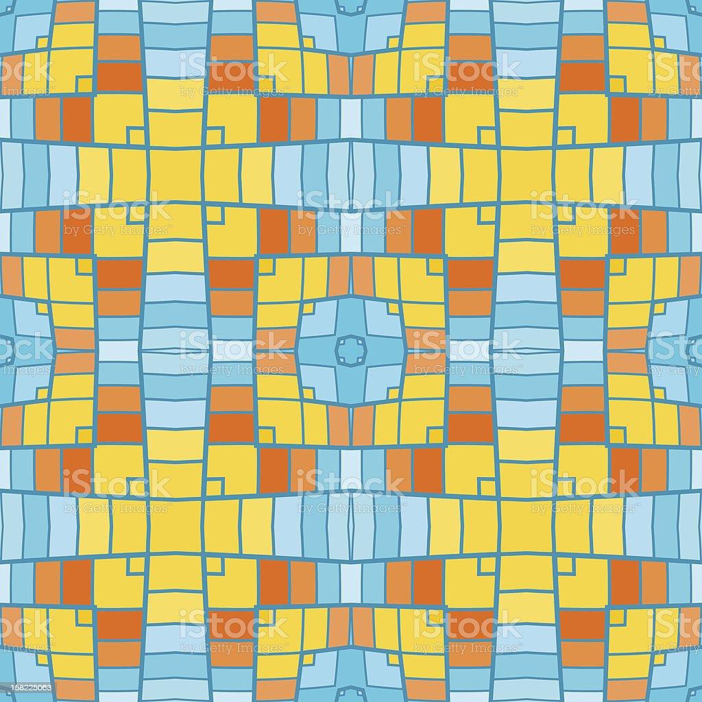 pixel modern geometric seamless pattern ornament background royalty-free stock vector art