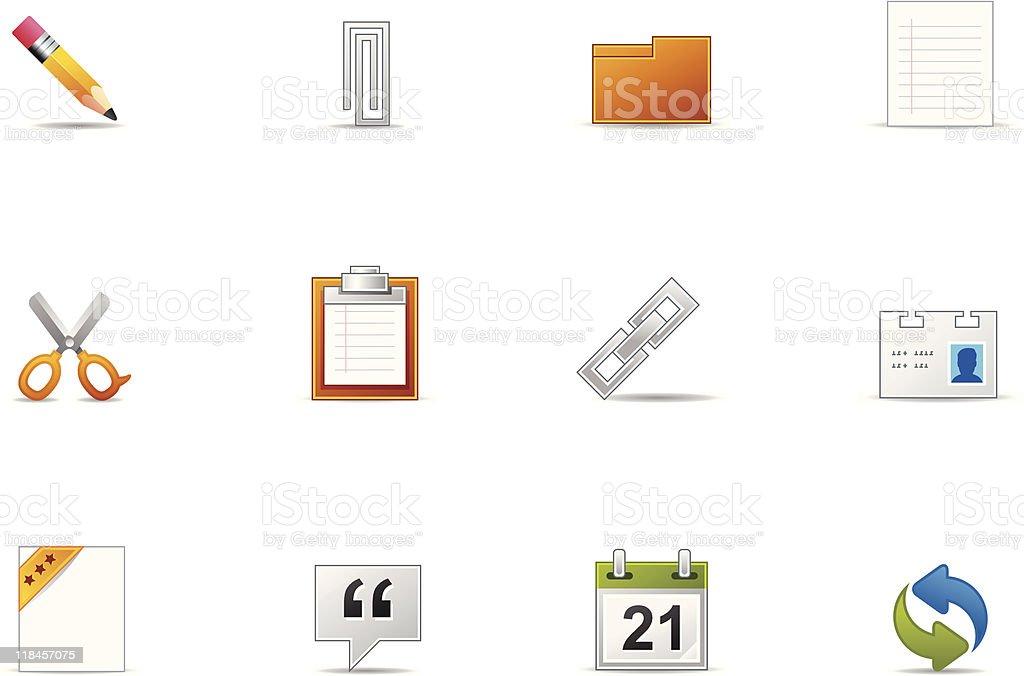 Pixio set - Web & Internet icon royalty-free stock vector art