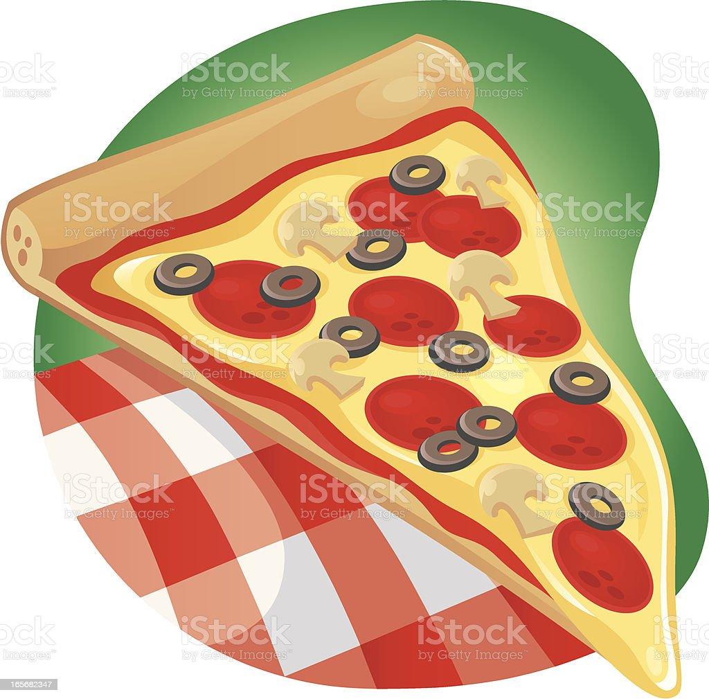 Pizza! royalty-free stock vector art