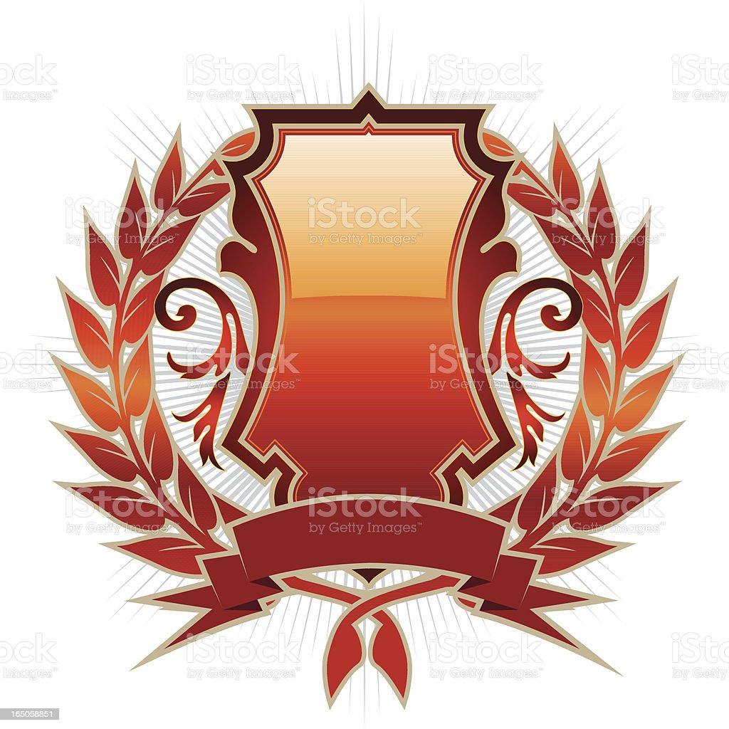 placard emblem royalty-free stock vector art