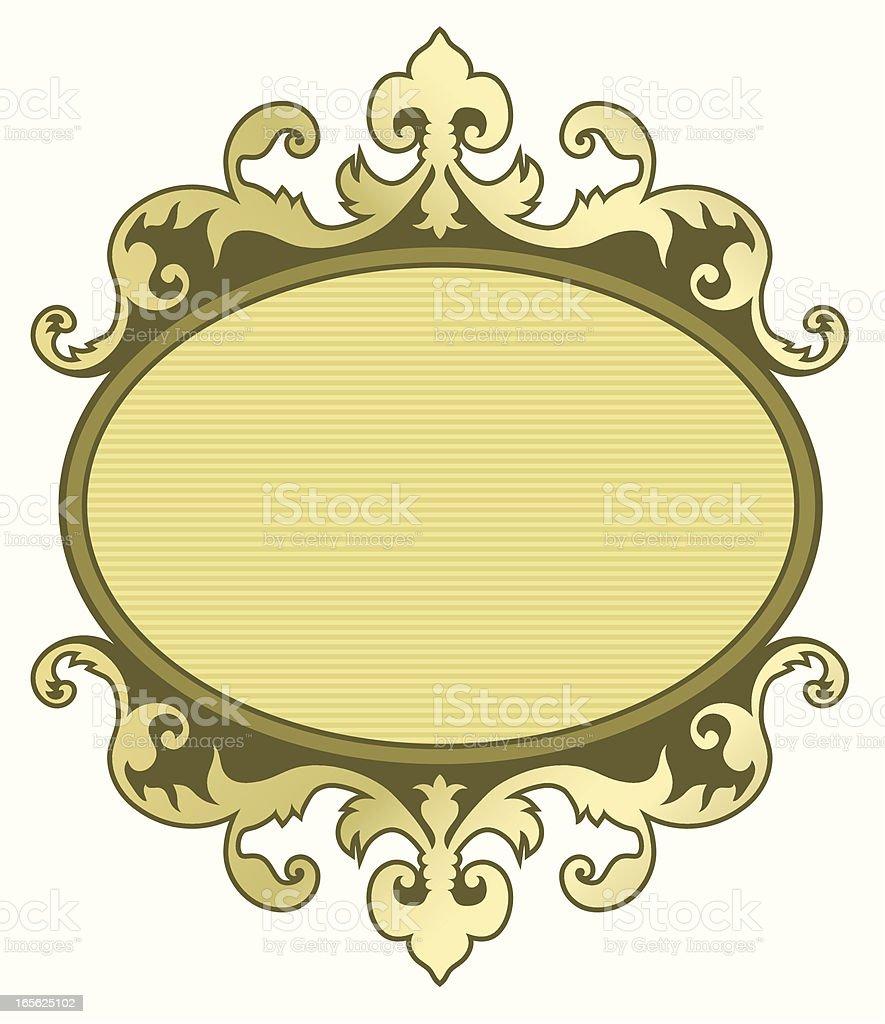 Placard royalty-free stock vector art