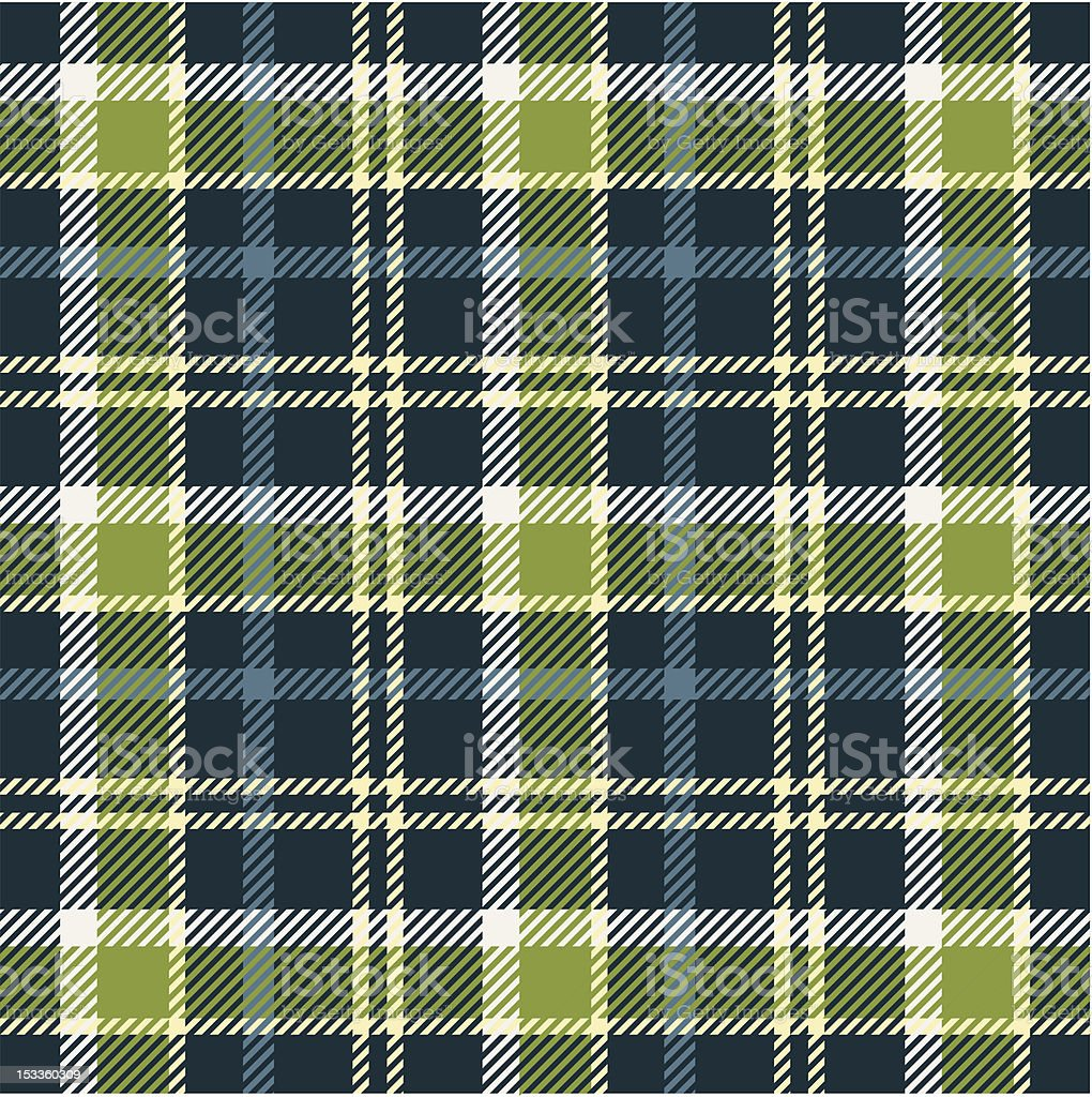 Plaid pattern vector art illustration