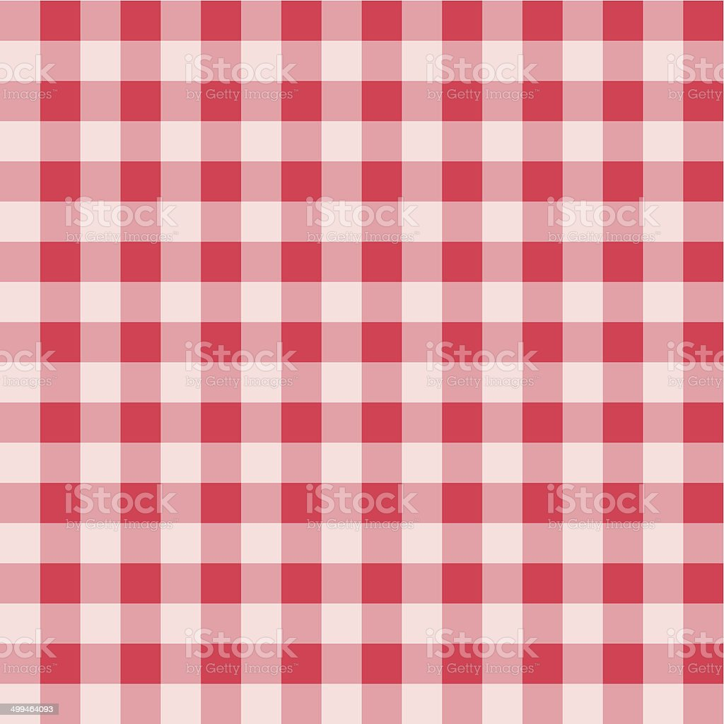 Plaid pattern vector art illustration