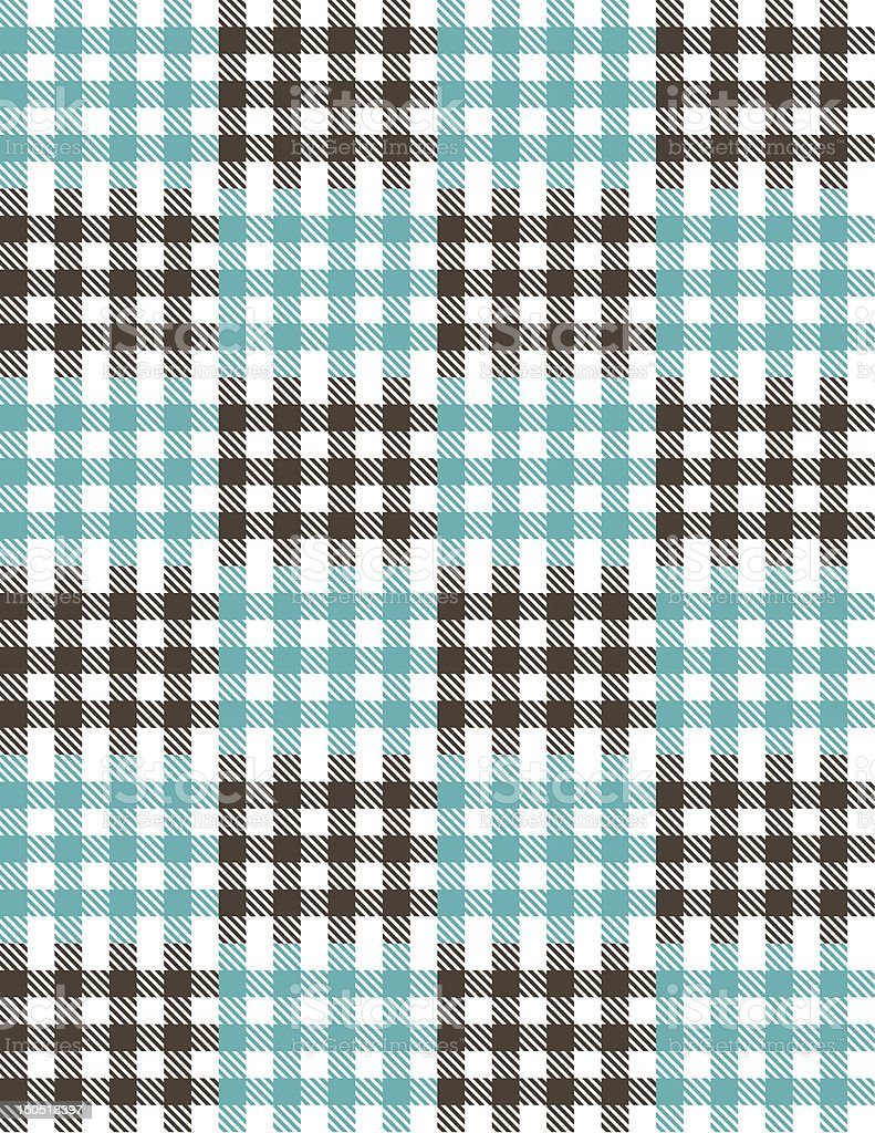 Plaid Vector Background Pattern Tile royalty-free stock vector art