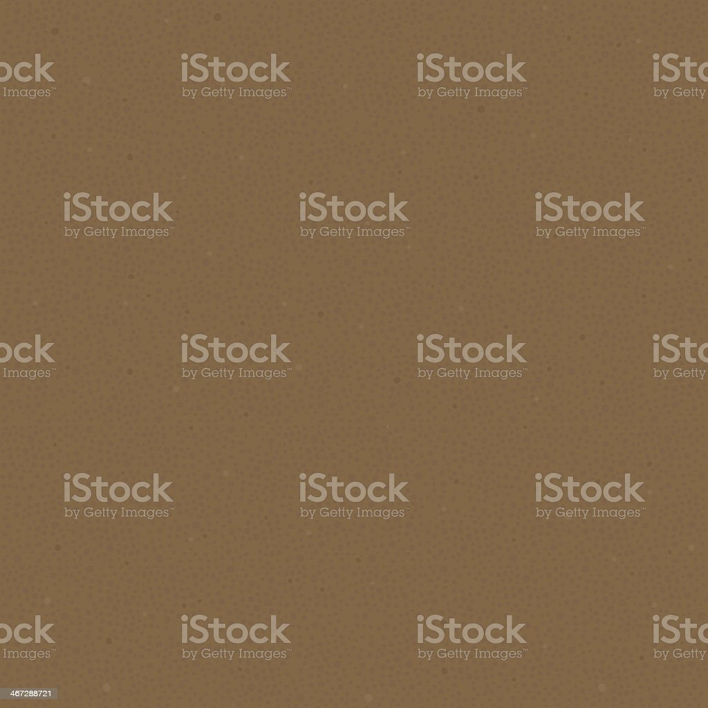 Plain Seamless Sand Pattern with Small Stones in the Soil royalty-free stock vector art