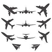 Plane vector icons