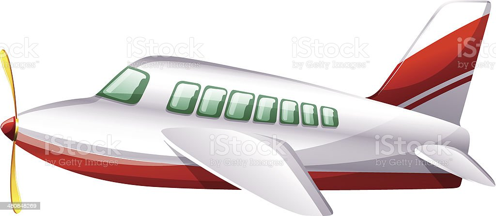 Plane royalty-free stock vector art