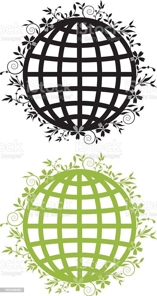 Plant world royalty-free stock vector art