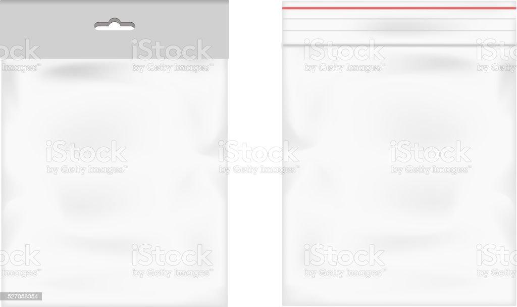 Plastic bag icon transparent background vector illustration vector art illustration