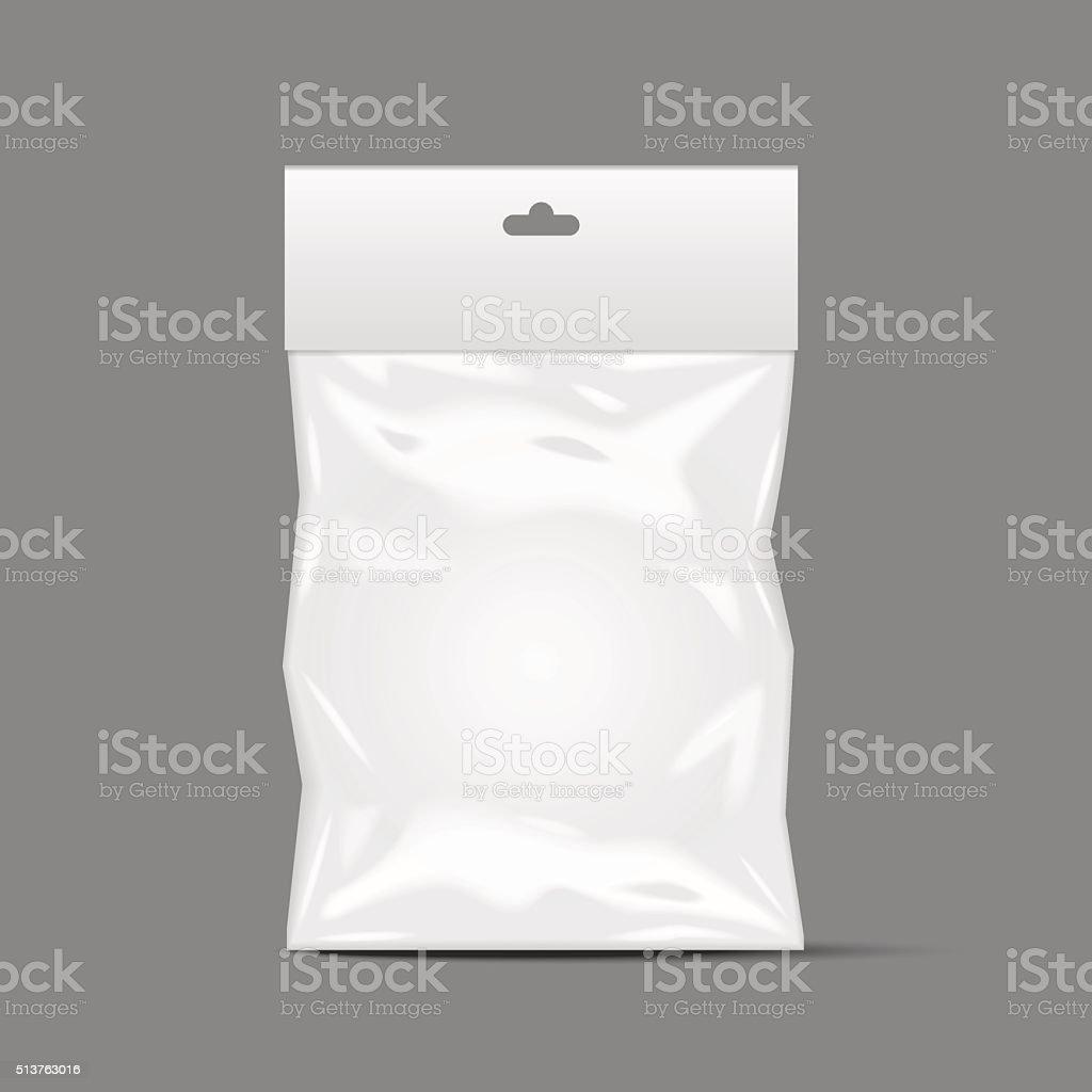 plastic pack vector art illustration