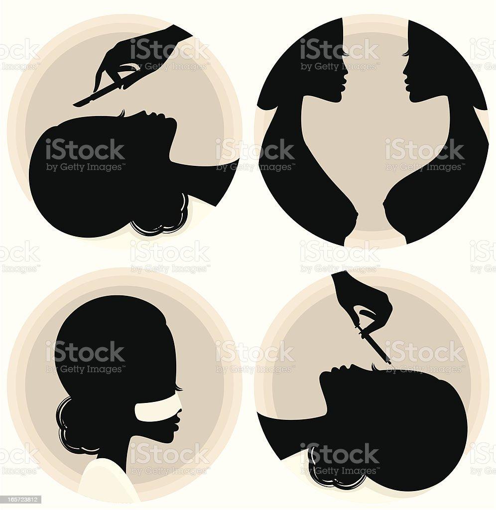 Plastic Surgery vector art illustration