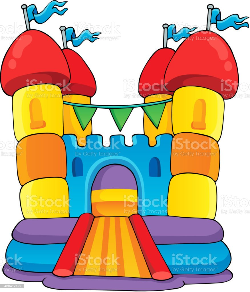 Play and fun theme image 2 vector art illustration