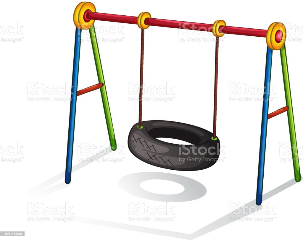 Play equipment royalty-free stock vector art