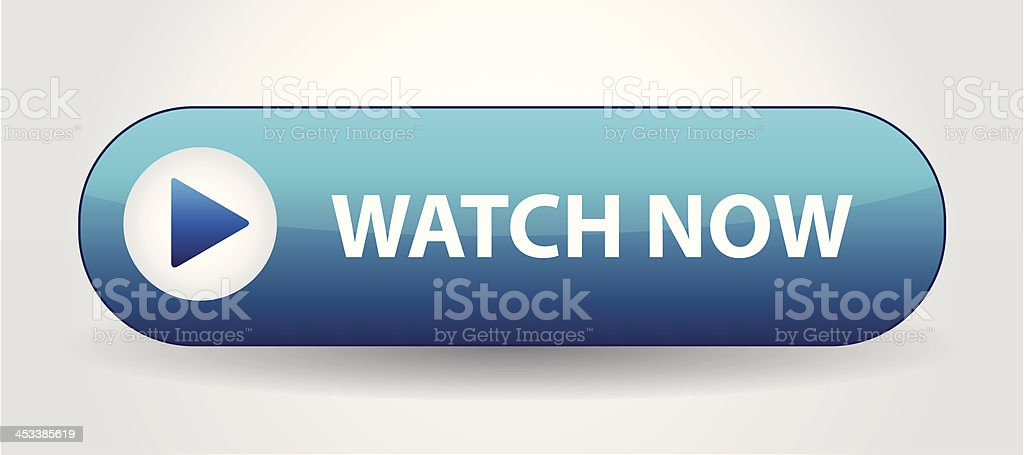 Play with Watch Now. Vector illustration royalty-free stock vector art