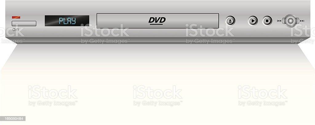 DVD player (vector) royalty-free stock vector art