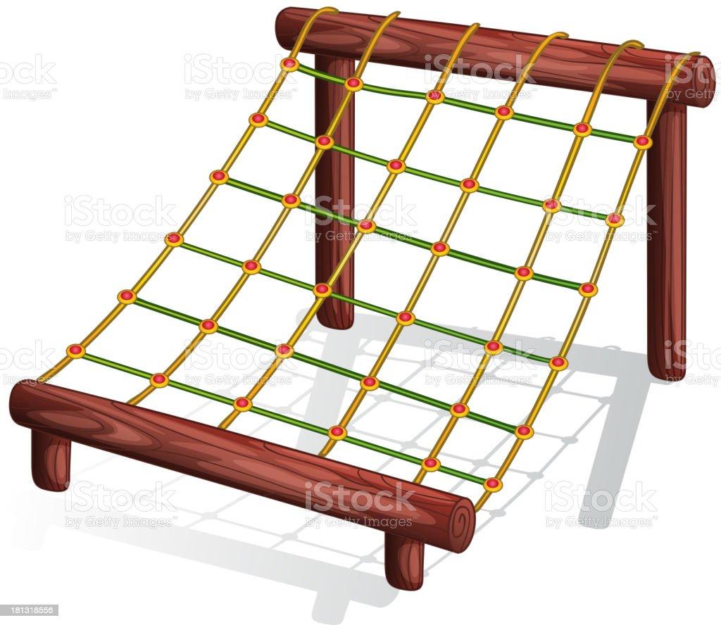 Playground equipment royalty-free stock vector art