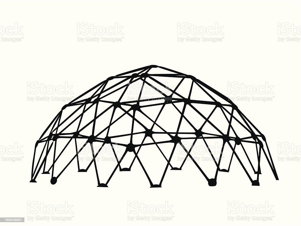 Playground Vector Silhouette vector art illustration