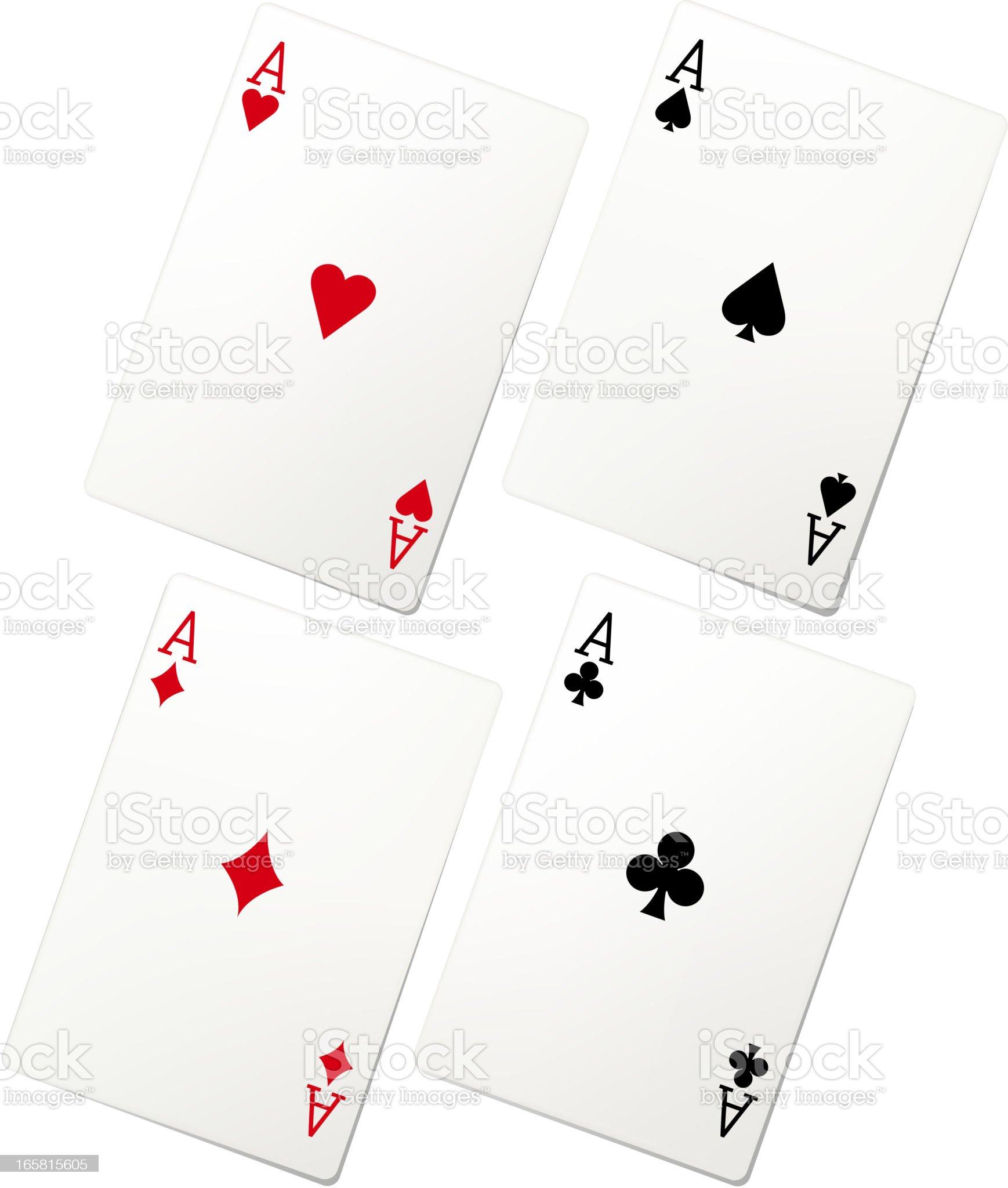 playing card set royalty-free stock vector art